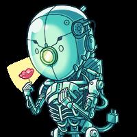花とロボット