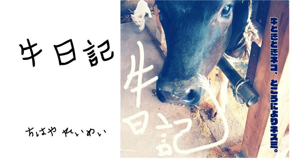 牛日記 〜牛ときどき猫、ところによりネズミ〜の表紙