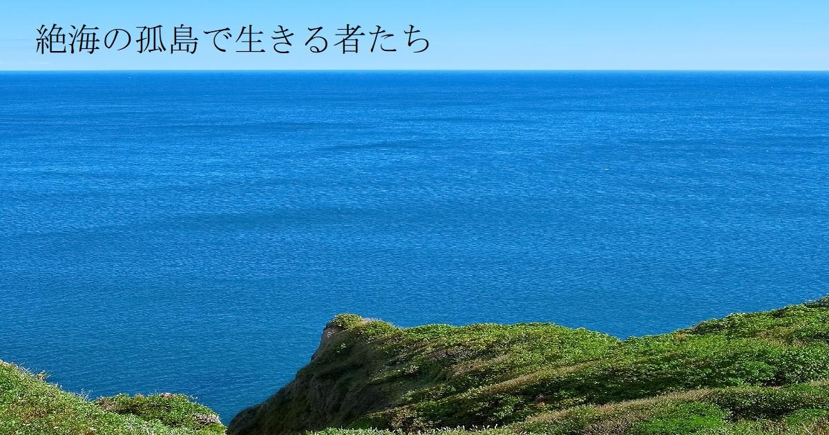 絶海の孤島で生きる者たちの表紙