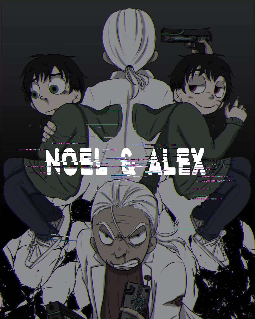 Noel&Alexの表紙