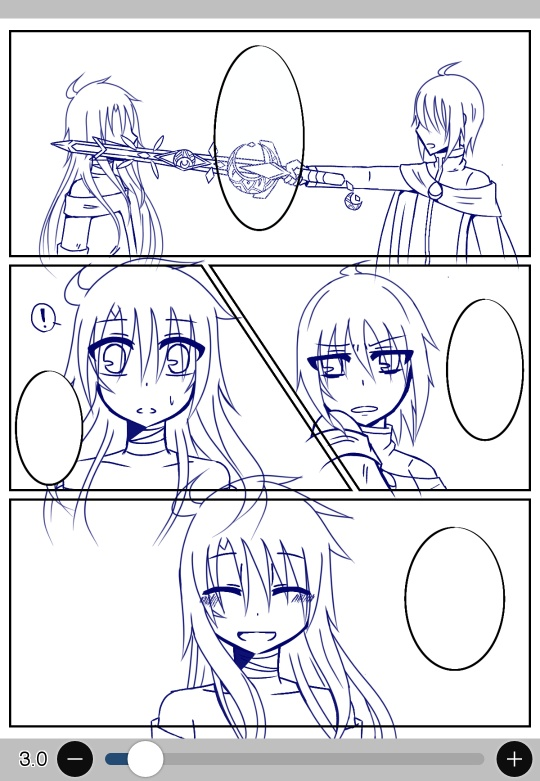4コマ漫画を描く!(~完成)の挿絵1