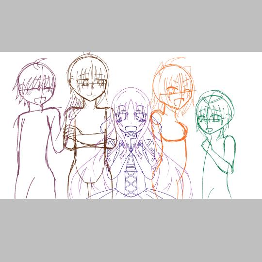 【Destiny×Memories】記念絵を描く!の挿絵4