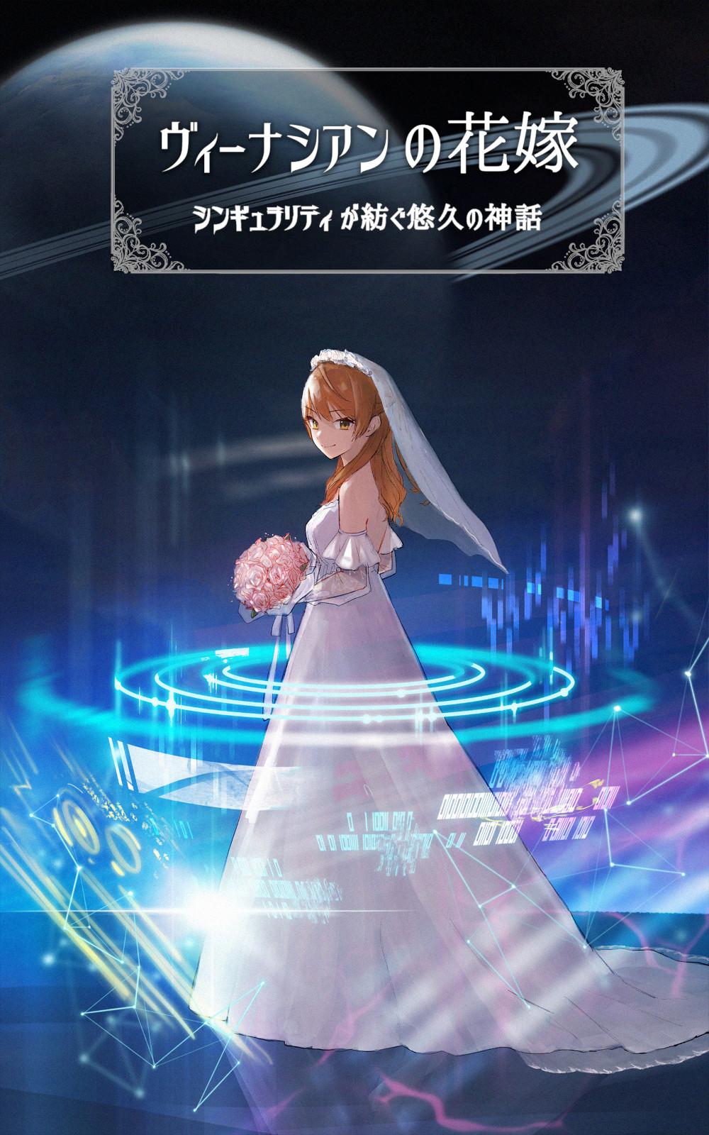 ヴィーナシアンの花嫁 ~シンギュラリティが紡ぐ悠久の神話~の表紙