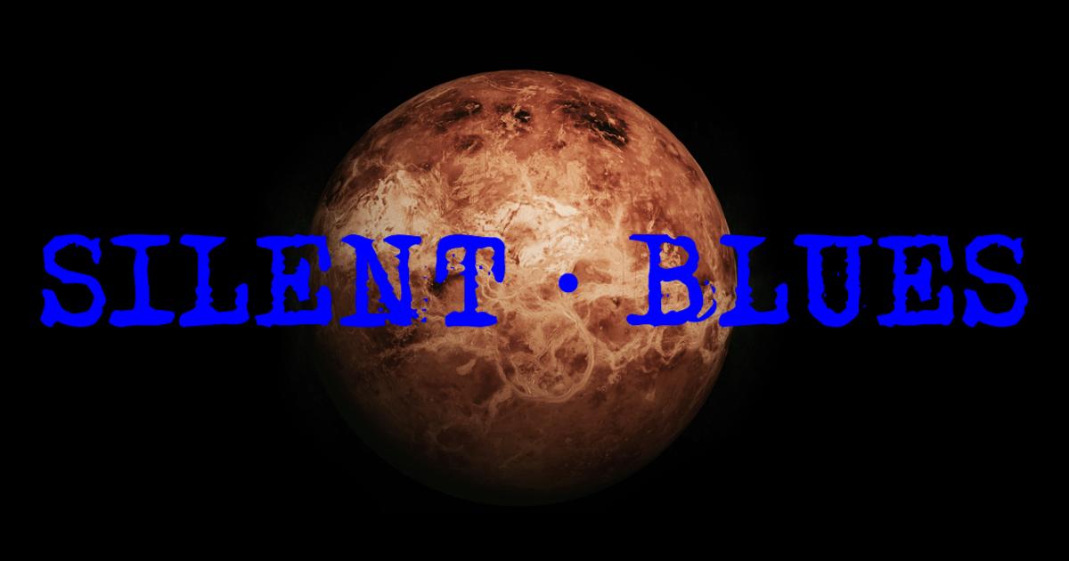 サイレント・ブルースの表紙