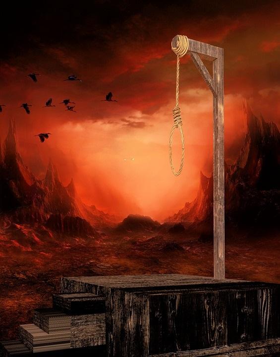 絞首台に誘う者の表紙