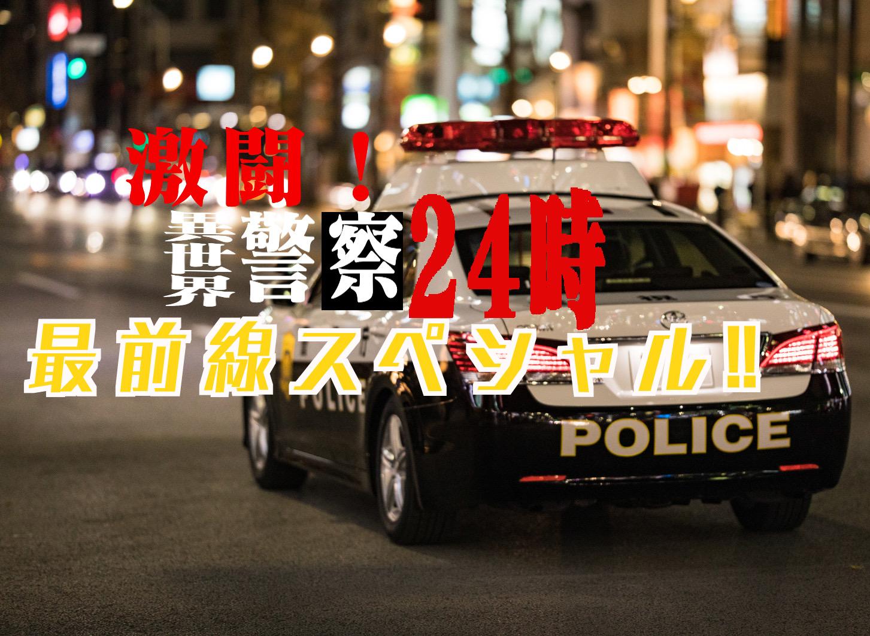 【第二部始動】激闘!異世界警察24時最前線スペシャル!の表紙